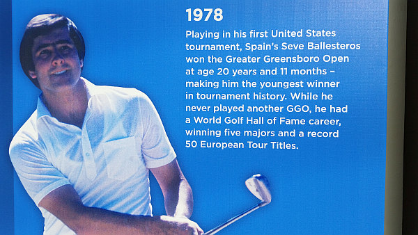 The late, great Seve Ballesteros created PGA Tour history in competing in 1978.