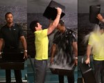 Tiger Wood and Rory Ice Bucket Challenge - Aug 2014