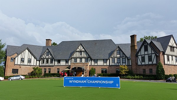 Welcome to the 75th anniversary Wyndham Championship.  (Photo - www.golfbytourmiss.com)