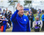Jamie Donaldson is the Monarch of the Glen securing the point to ensure Europe retain the Ryder Cup.