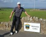 Three-time European Tour winner Joakim Haeggman visits Crail Golfing Society.  (Photo - www.golfbytourmiss.com)