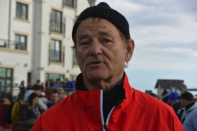 Hollywood actor Bill Murray explains how he came to Padraig Harrington's aid on the opening day of the Alfred Dunhill Links Championship.  (Photo - www.golfbytourmiss.com)