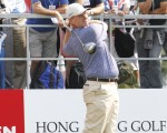 Ernie Els turns 45 taking lead in 2014 HK Open