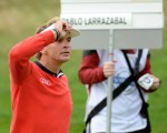 Joost Luiten easily accounts for Pablo Larrazabal winning 6 & 5 to storm into the semi-final of the Volvo World Match-Play Championship.  (Photo - www.europeantour.com)