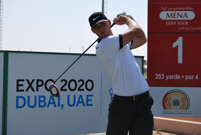 Joshua White Creates Mena Tour With 62 In Al Ain Golf