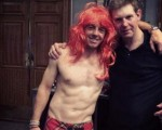 Rory McIlroy clueless how he ended up topless wearing just a crimson coloured wig and mini kilt in celebrating the Ryder Cup victory
