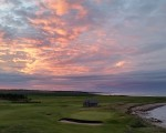 Stunning sunset over Crail Golfing Society (5)