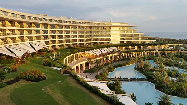The stunning Maxx Royal Hotel.