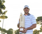 Brooks Koepka wins the 2014 Turkish Airlines Open.  (Photo - Fran Caffrey/www.golffile.ie)