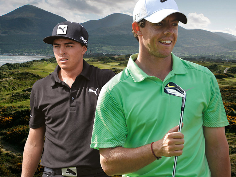 Rory McIlroy and Rickie Fowler to contest 2015 Irish Open at Royal County Down.