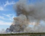 Florida sugarcane fire.