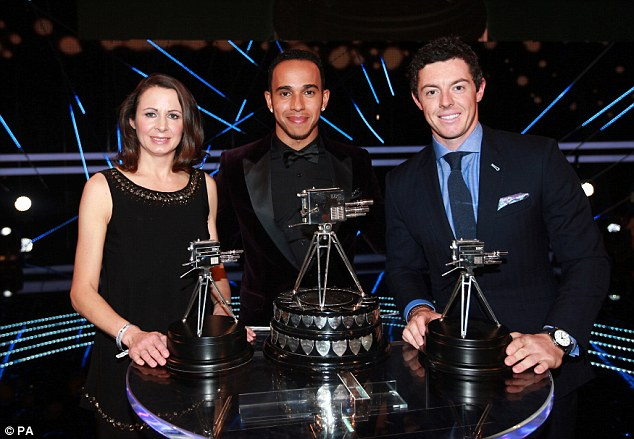 What a farce as Lewis Hamilton is voted 2014 BBC Sports Personality of the Year.