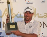 Darren Fichart claims the 2015 Abu Dhabi Invitational with an eight under par 64.  (Exclusive Photo - Fran Caffrey/www.golffile.ie)