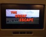 The 1963 smash hit movie - 'The Great Escape' - now showing at 36,000 feet.