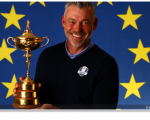 Darren Clarke is in Dubai and overseeing 'possibles' and 'probables' measured for Hazeltine team clothing.