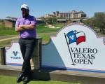 Shane Lowry at the 11th tee of the TPC San Antonio course. (Photo - www.golfbytourmiss.com)
