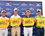 Taichi Teshima, Scott Strange, Tadahiro Takayama and Shinji Tomimura qualify for The Open.