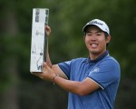 Korean 'Ben' An rewrites BMW PGA Championship record books with his 21-under par victory tally. (Photo - David Lloyd/www.golffile.ie)