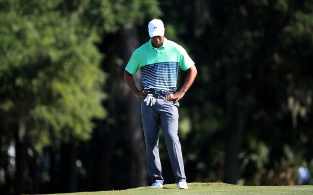 tiger woods fails to get it past sawgrass ladies tee on