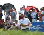 Graeme McDowell (NIR) draws in a packed crowd to see him defend his double Champion title during Round One of the 2015 Alstom Open de France, played at Le Golf National, Saint-Quentin-En-Yvelines, Paris, France. /02/07/2015/. Picture: Golffile   David Lloyd  All photos usage must carry mandatory copyright credit (© Golffile   David Lloyd)