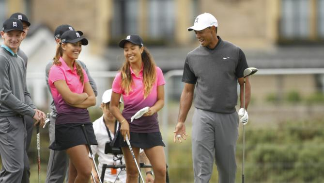 Tiger Woods 'Shocked' Seeing Old Course So Green & So Slow ...