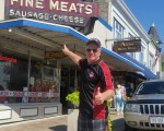 Look Bernie has his own meat store in Port Washington and just a few miles south of Whistling Straits.
