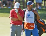 Jordan Spieth reigns the golf world for all of 12 days and falling back to No 2 after missing the Barclays C'ship halfway cut.  (Photo - www.pgatour.com)