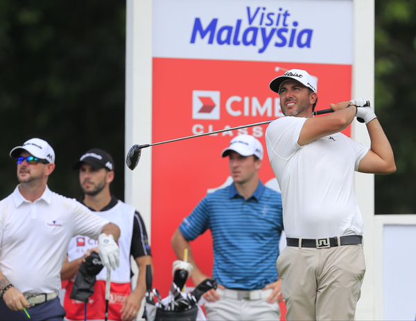 Scott Piercy sizzles with a 62 on day one of the CIMB Classic in Malaysia.  (Photo - Thos Caffrey/www.golffile.ie)