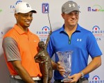 World No. 1 Jordan Speith predicts Tiger Woods will bring a huge intimidation factor to the 2016 USA Ryder Cup side.  (Photo - www.golffile.ie)