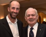 Austalia's only two U.S. Open champions together for a first time at the 2015 Australian Golf Writers Australia annual dinner.