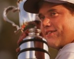 Lee Westwood wins 1997 Australian Open defeating then World NO. 1 Greg Norman