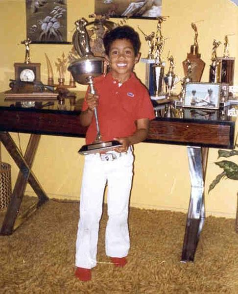 Tiger was used to winning from a very early age.