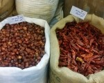 Too hot to handle - dried chillis at Doha's Souq Waqif