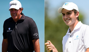 Five-time Major winning Phil Mickelson slams rookie pro Ryan Ruffels over wager affair.