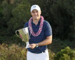 Jordan Spieth's only victory in his 101,000 klm whirlwind journey  - a stunning 8-shot success in the Hyundai Tournament of Champions.