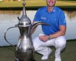 Danny Willett claims a fourth European Tour win in capturing 2016 Omega Dubai Desert Classic.  (Picture: Golffile | David Lloyd)