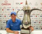 Danny Willett wins 2016 Omega Dubai Desert Classic. (Picture: Golffile | David Lloyd All photos usage must carry mandatory copyright credit (© Golffile | David Lloyd)