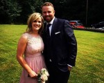 Shane Lowry and his fiancee Wendy to caddy in 2016 Masters Par 3 Contest.