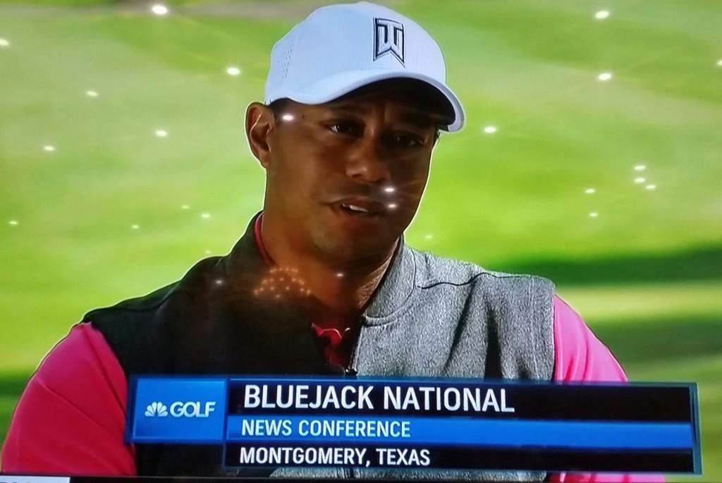 Tiger woods confesses he s uncertain frustrated not for Bluejack national
