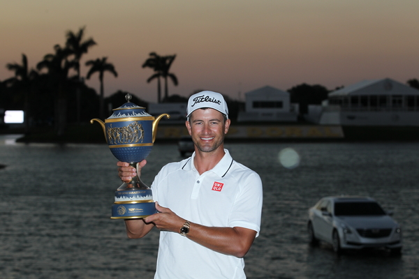 aus champion after the final round of the wgc cadillac championship. Cars Review. Best American Auto & Cars Review