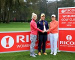 British No.1, Charley Hull, 2009 champion Catriona Matthew and Solheim Cup star Mel Reid gathered at Woburn Golf Club today to launch the 2016 Ricoh Women's British Open Championship, held 28 to 31 July, 2016.