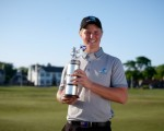 Melbourne's Cameron John upstages local favourites to land Scottish Stroke-Play title.
