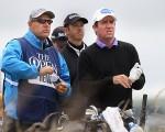 Scott Hend and Tony Carolan at The Open.  (Photo - www.golfgrinder.com)