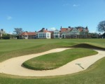 18th hole and clubhouse