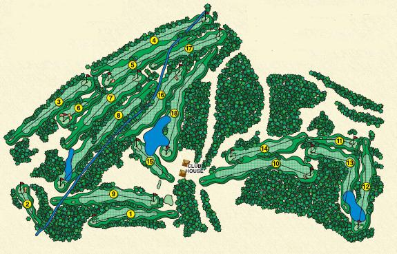 oakmont course layout