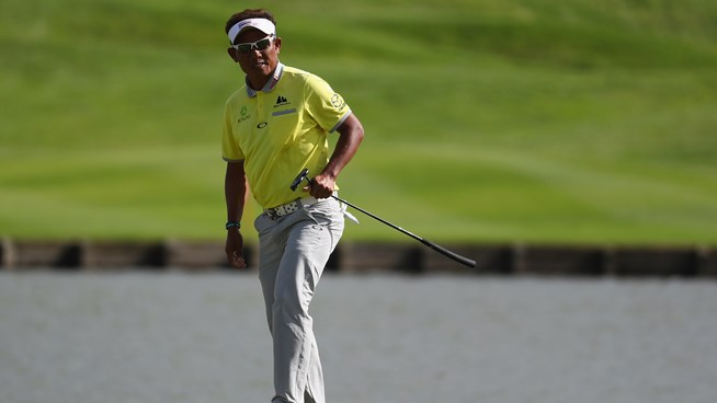 363ce20e9c7e Ever-green Thongchai Jaidee takes a two shot lead into the final round of  the