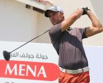 England's Craig Hinton hot foots it to a 66 on the first day of the  MENA Golf Tour Ascorp Golf Citizen Abu Dhabi Open.