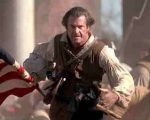 Aussie-born Mel Glbson, who played the part of Scottish legend William Wallace in 'Braveheart' also starred as an American  in 'The Patriot'.