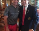 Rory McIlroy and Arnold Palmer.