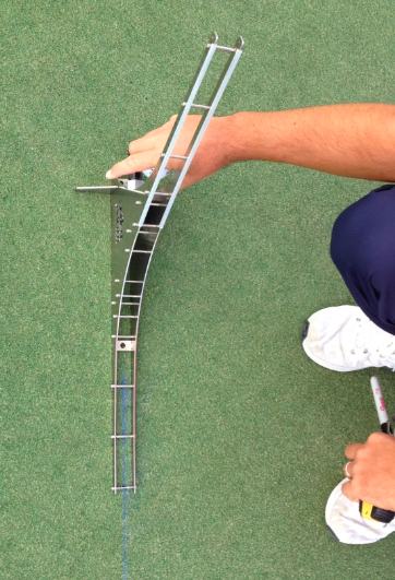 Roman Bescana's 'Perfect Putter' ramp.